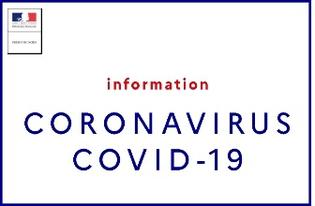 CORONAVIRUS : DERNIERES MESURES